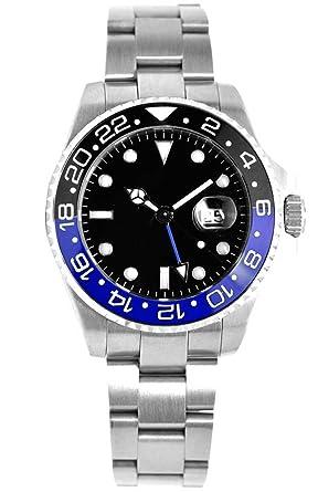 2914946252 Amazon | ノーロゴ 腕時計 自動巻 GMT NL-552S4AS [並行輸入品] | 並行 ...
