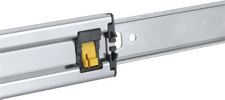 Rok Hardware 28 Drawer Slides Full Extension Soft Close Ball Bearing 100 Lbs Capacity 1 Pair