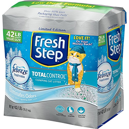 Fresh Step Control Febreze Scented