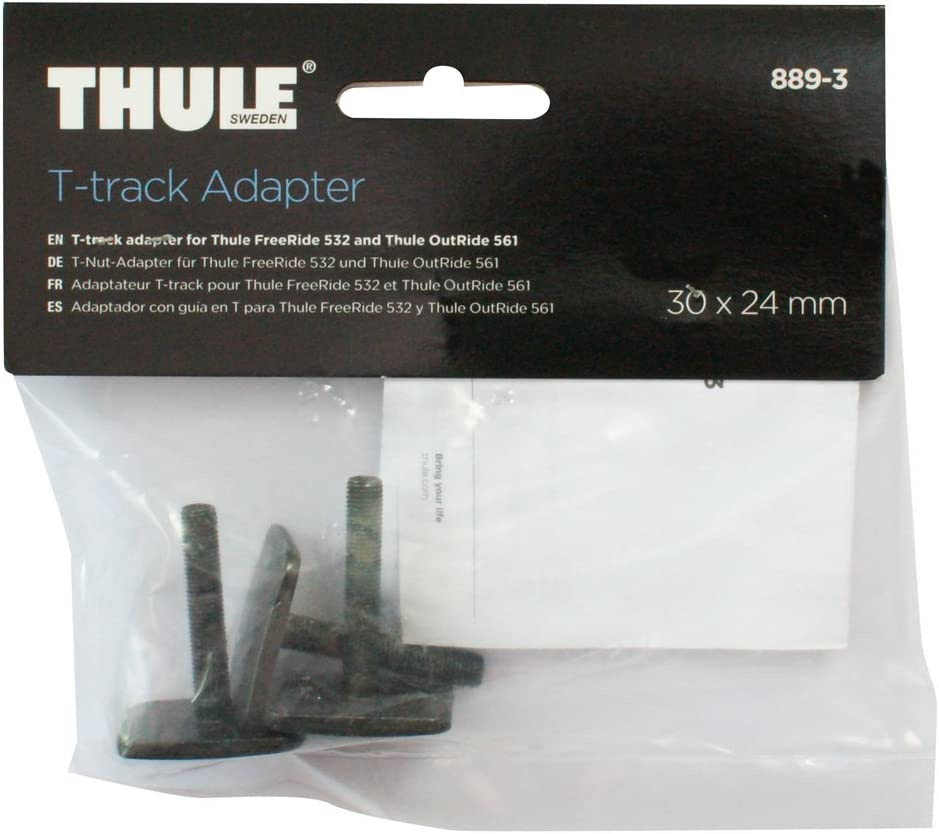 Thule 889301 Outride T Track Adapter 30 X 24 Mm Auto
