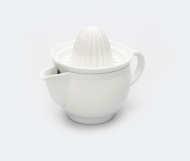 Azmaya White Porcelain Manual Hand Juicer