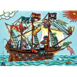 Pirate Ship - 20 Piece Tray Puzzle