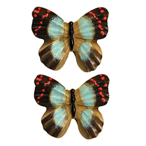 Kids Room Decor 1 Pair Beautiful Butterfly Cabinet Knobs Drawer