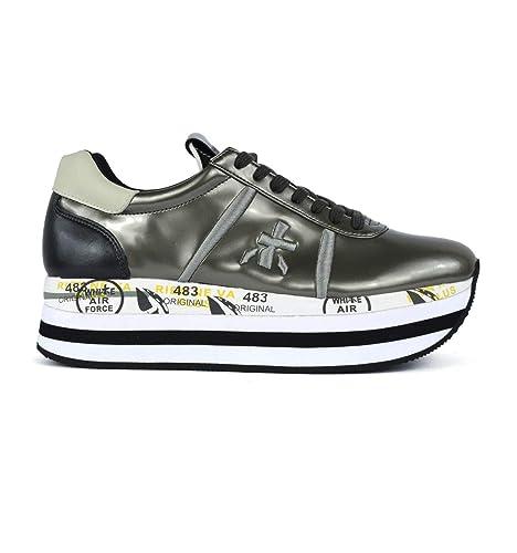 Sneakers Donna Premiata Grigio Sneakers Beth Premiata In