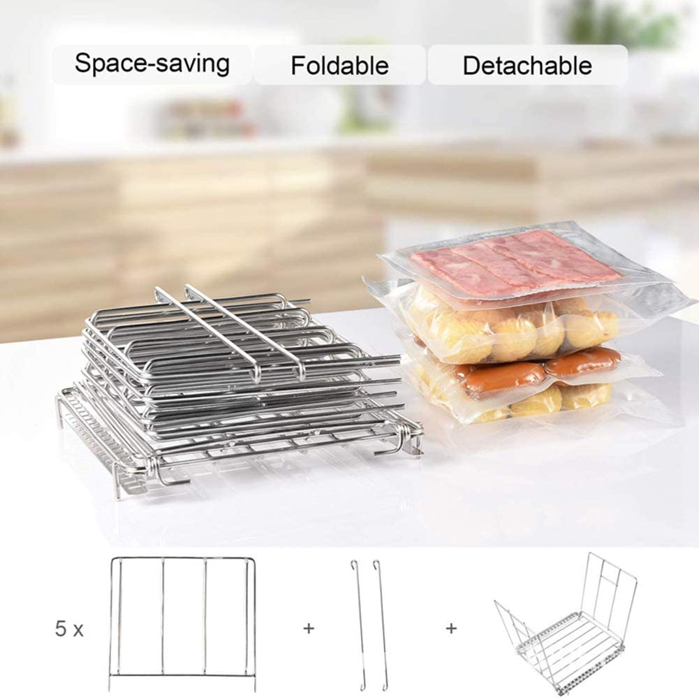 YTGOOD Stainless Steel Sous Vide Rack Dividers Separator for Softcooker Sous Vide Cooker