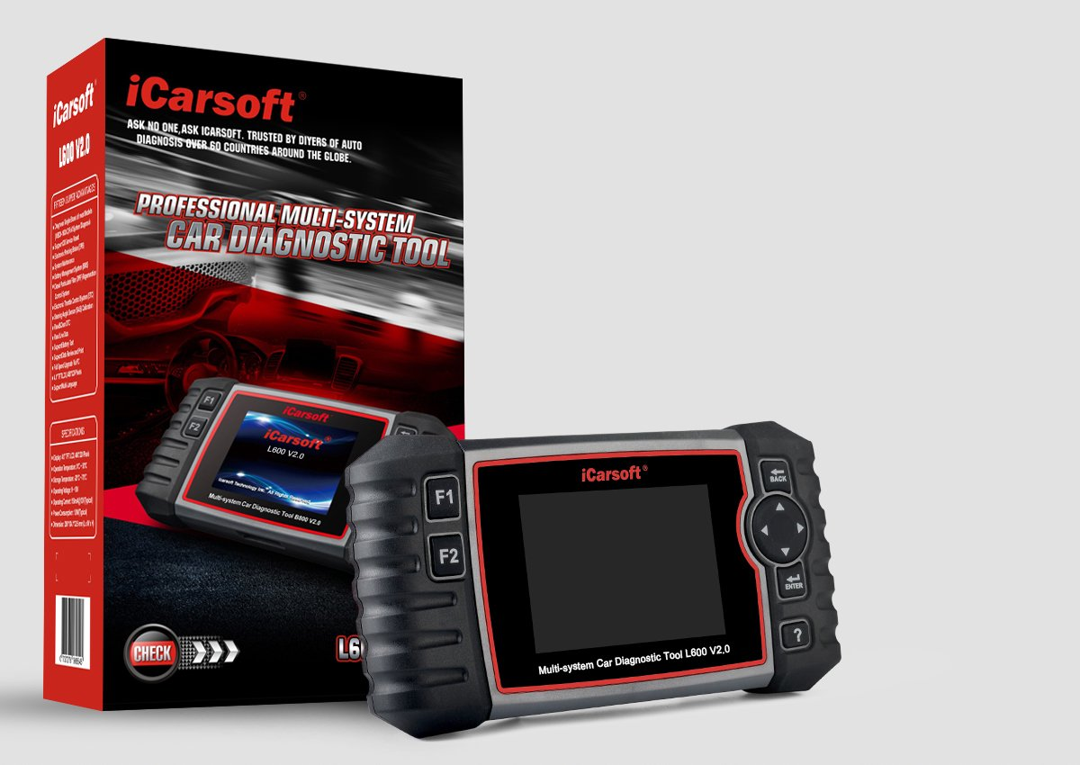 iCarsoft Auto Diagnostic Scanner L600 V2.0 for Landrover and Jaguar with ABS Scan,Oil Reset EPB etc by iCarsoft (Image #7)