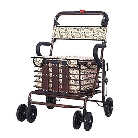 Comodidad De Viaje Sillas De Ruedas Old Man Shopping ...