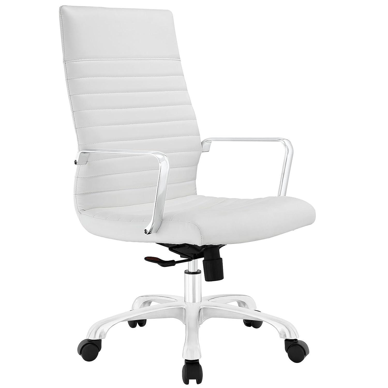 Amazon.com: Modway Finesse Highback Office Chair, White: Kitchen U0026 Dining