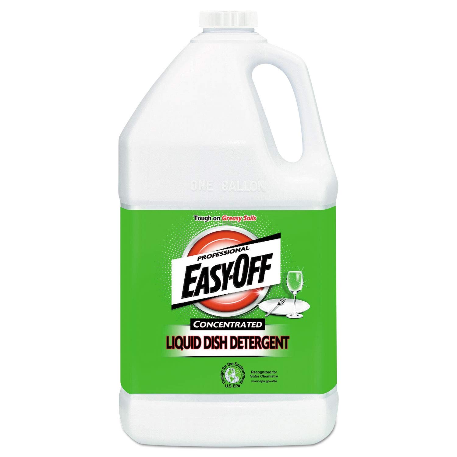 Professional EASY-OFF Liquid Dish Detergent Concentrate, 1 gal Bottle - 89769EA
