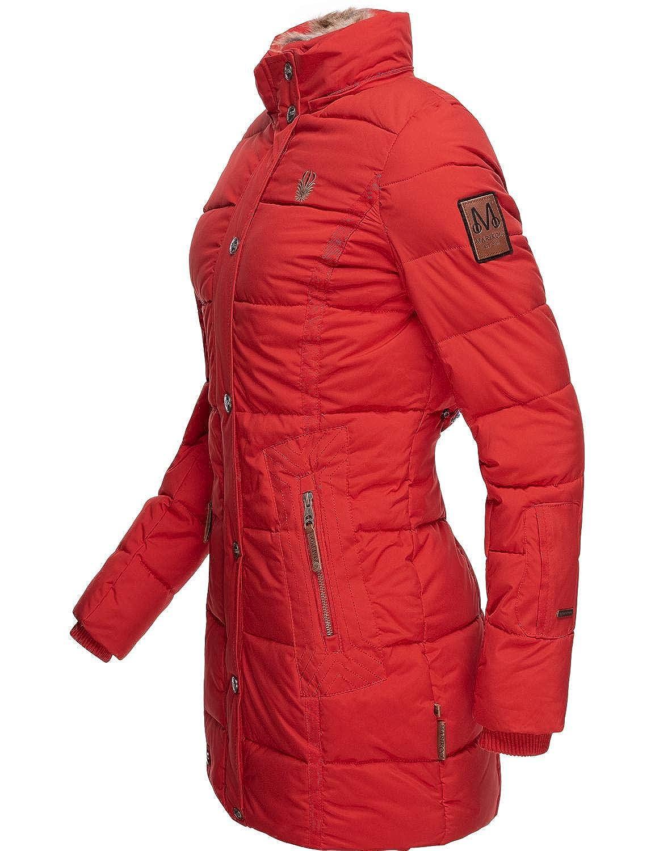 Cappotto Invernale Trapuntato Parka con Cappuccio Giacca Preferita 4 Colori XS Marikoo XXL