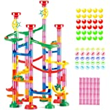 WEofferwhatYOUwant Marble Run Roll - Educational Construction Maze Block. Big Circle and Double Back Pieces for More…