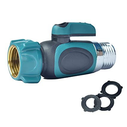 Kihappy Garden Hose To Shut Off Valve Connect Outside Spigot Friendly Faucet  Extension   Ergonomic Aesthetic