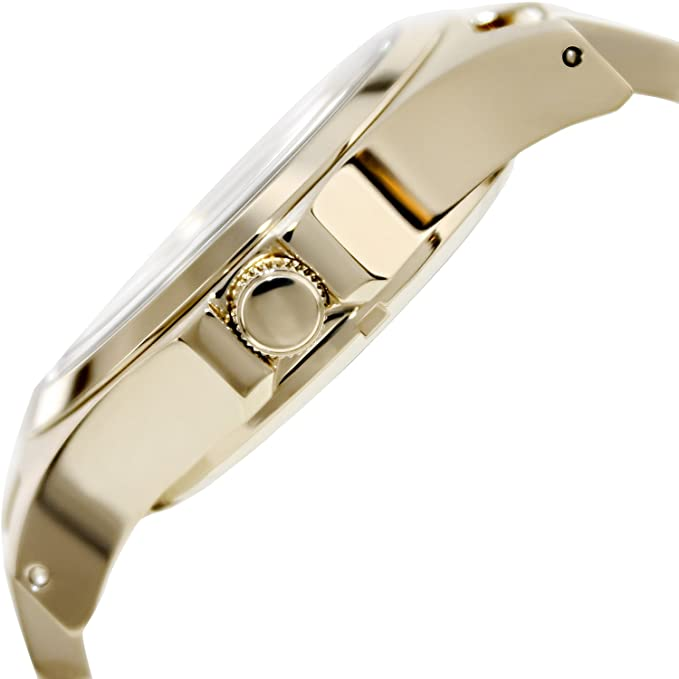 Amazon.com: Marc by Marc Jacobs Crystal & Goldtone Stainless Steel Watch - Gold: Marc by Marc: Watches