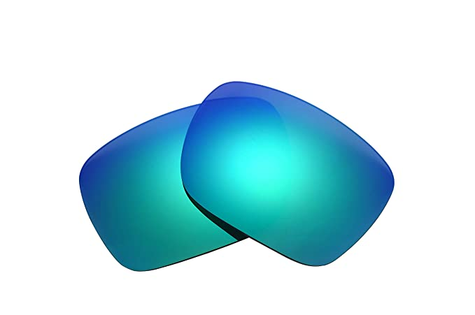2e867d2fa77 Image Unavailable. Image not available for. Color  NicelyFit Polarized  Replacement Lenses for Oakley Holbrook Sunglasses (Green Mirror)