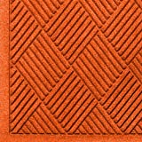 Andersen 221 Waterhog Fashion Diamond Polypropylene Fiber Entrance Indoor/Outdoor Floor Mat, SBR Rubber Backing, 4-Feet Length X 3-Feet Width, 3/8-Inch Thick, Orange