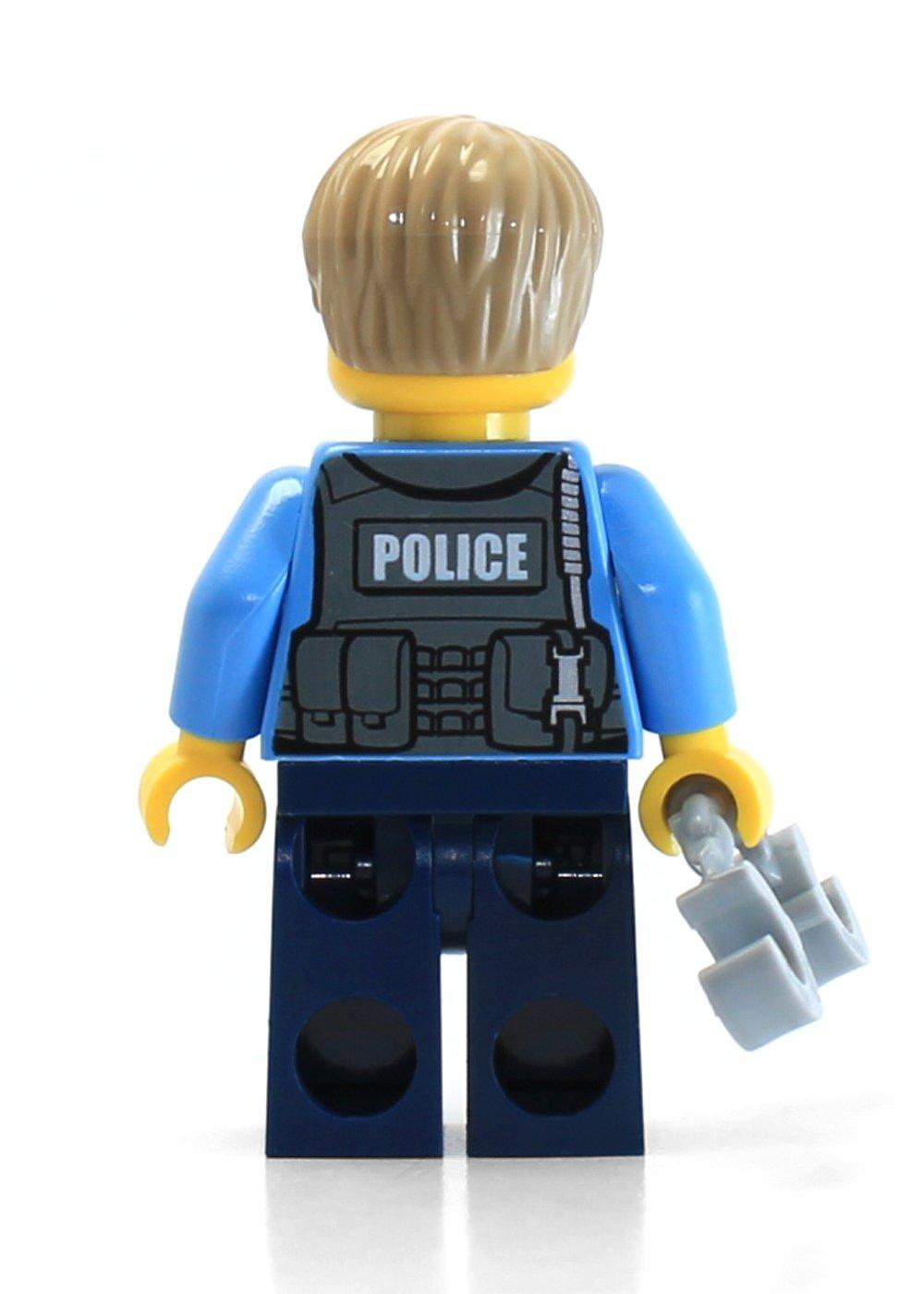 Dark Blue Legs w//Handcuffs Undercover Chase McCain LEGO City Minifigure Police