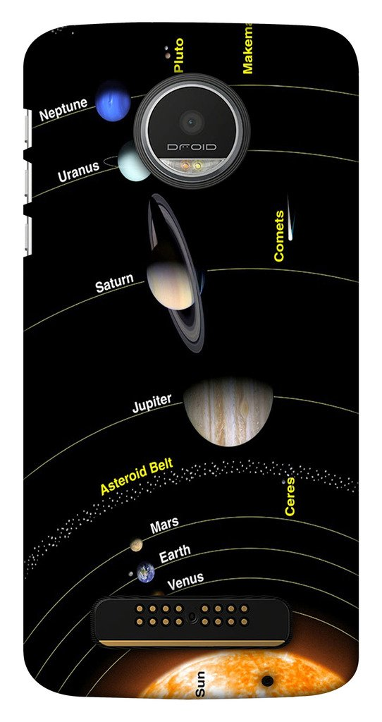 Blutec Solar System Design 3D Printed Hard Back Case: Amazon in