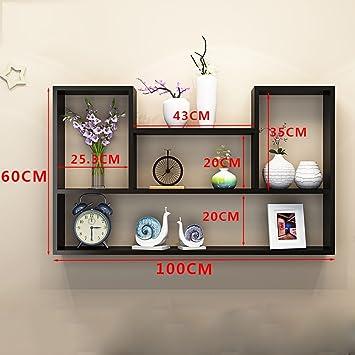 CLOTHES UK- Creative Salon Mur Mont Bibliothèque Moderne Simple ...