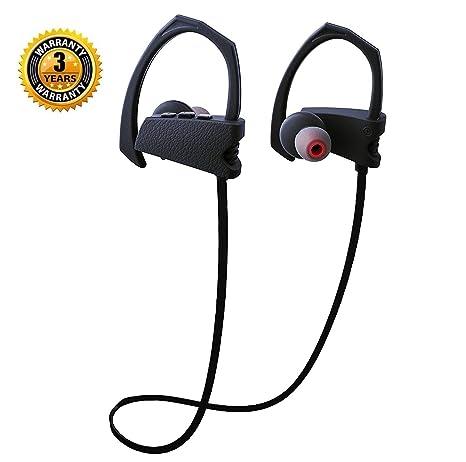 b4631ce8f25 Amazon.com: Wireless Headphones Bluetooth Sports Earphones Wireless Earbuds  Noise Cancelling Headsets HD Stereo Sweatproof Waterproof IPX7 Bass HiFi  in-Ear ...