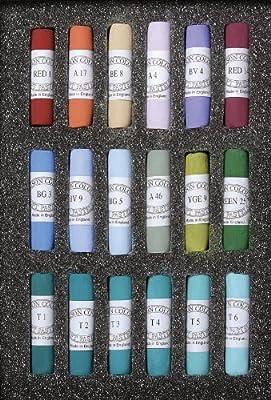 Jack Richeson Unison Pastel Southwest Colors, Set of 18