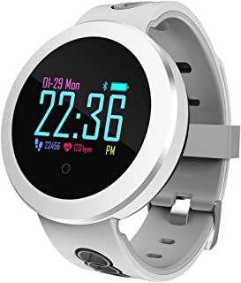 Alian Smart Watches, IP68 Waterproof Color Screen Smart Bracelet with Heart Rate Monitor,Blood Oxygen Monitor,Blood Pressure Monitor, Call/Messager Reminder Fitness Tracker for Man Woman