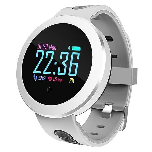 Rikey Fitness Tracker, Q8 Pro Color Activity Tracker. Reloj con ...