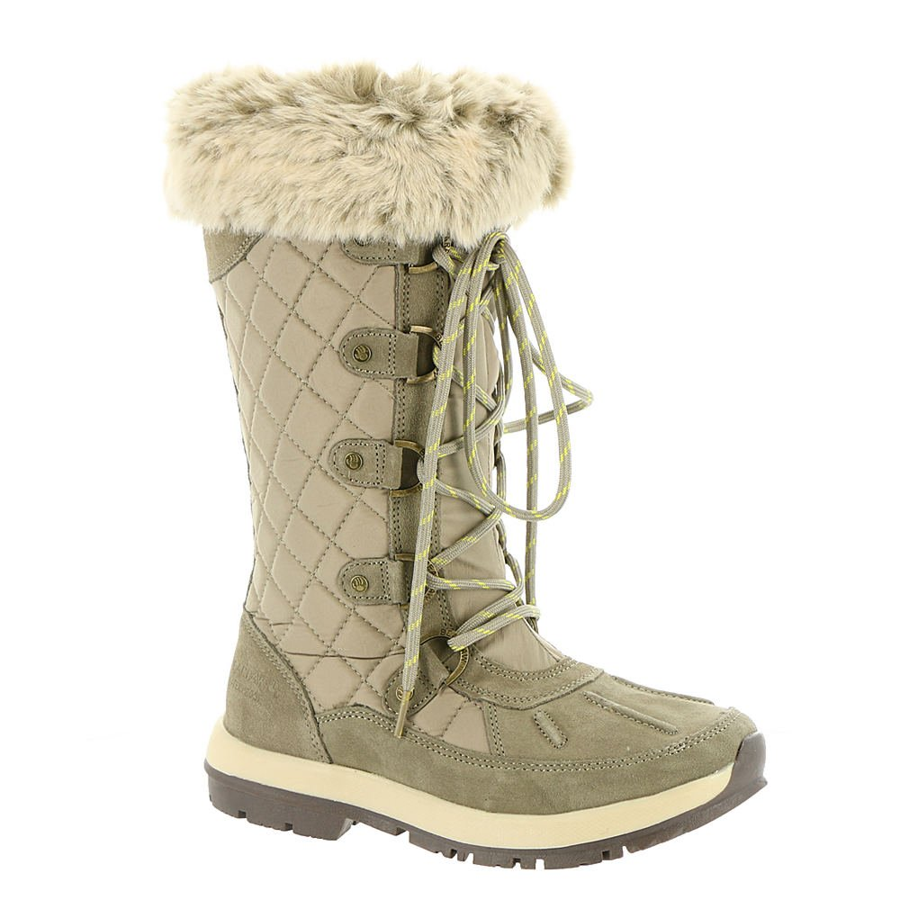 BEARPAW Quinevere Tall Waterproof Boot for Women B06XRRWJQ7 5 M|STONE