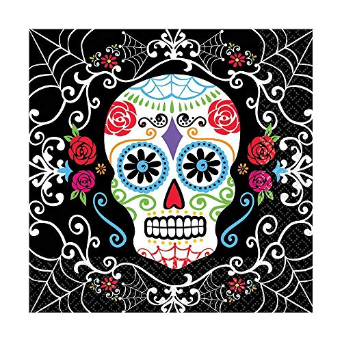 Day of The Dead Luncheon Napkins ()