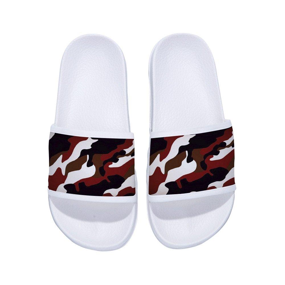 Swimming Sandals for Boys Girls Anti-Slip Shower Slide Sandal Shoes Camouflage