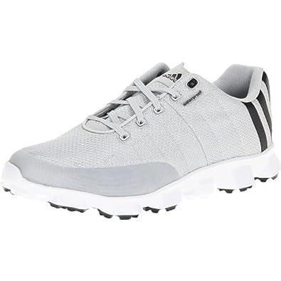 uk availability 86109 eee98 adidas Mens Crossflex Golf Shoe, Light GrayBlackWhite, 10 M US
