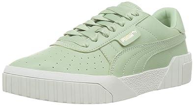 eb9847240f86d Amazon.com | PUMA Women's Cali Emboss WN's Low-Top Sneakers, Smoke ...