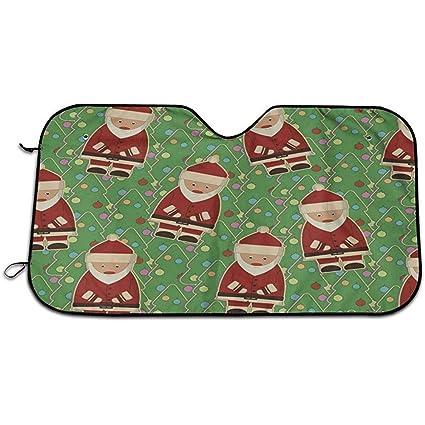 Vincant Árbol de Navidad Papá Noel Parabrisas del Coche Sombrilla ...