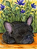 Caroline's Treasures SS8674GF French Bulldog Flag, Small, Multicolor For Sale