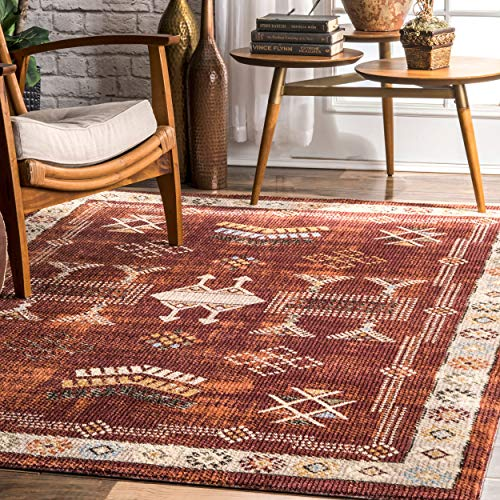 nuLOOM Edith Transitional Tribal Area Rug, 5' x 8', ()