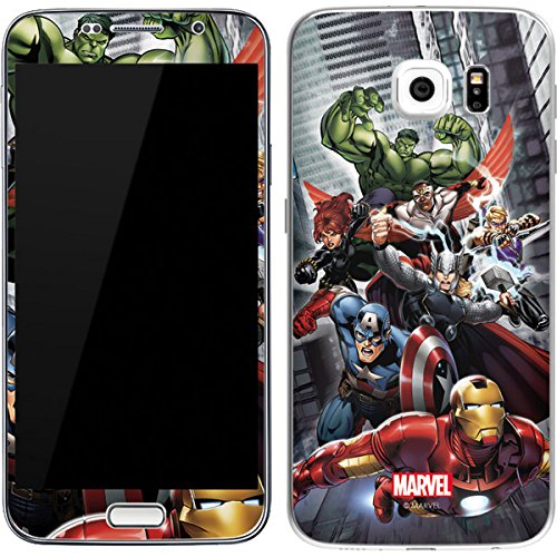 Avengers Team Power Up Skin for Galaxy S6