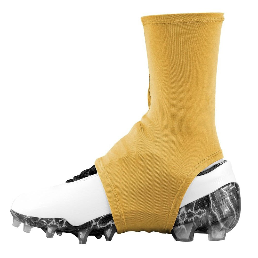 Dmaxx Spats Football Cleat Covers (Vegas Gold, Large)