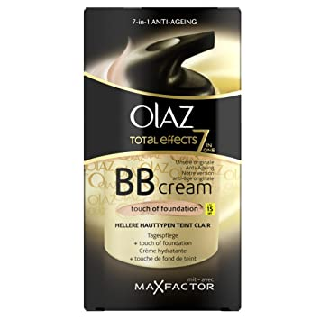 Olaz Total Effects Bb Cream Touch Of Foundation Mit Lsf 15 Hellere