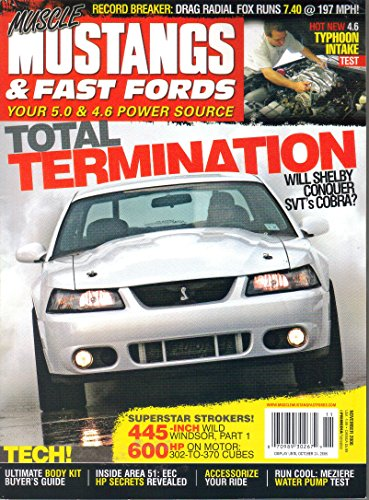Muscle Mustangs & Fast Fords, November 2006 Issue