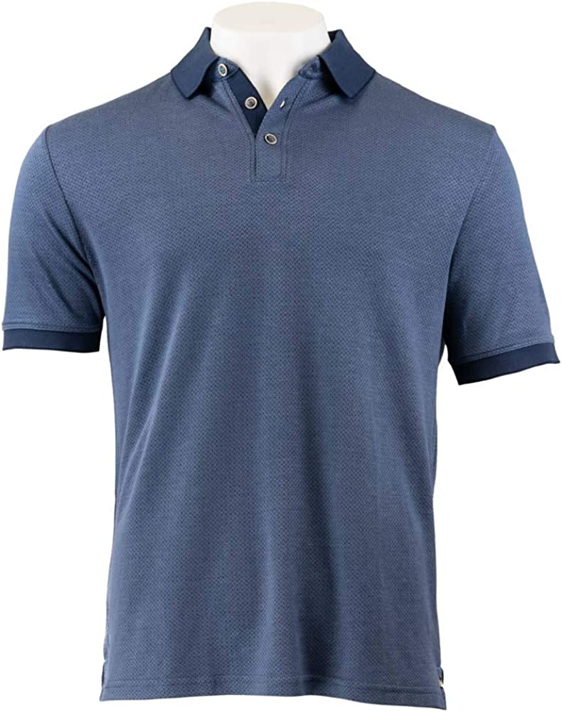 Details about  /Nat Nast Luxury Originals Short Sleeve Polo Shirt Marine Blue Men/'s NWT C1