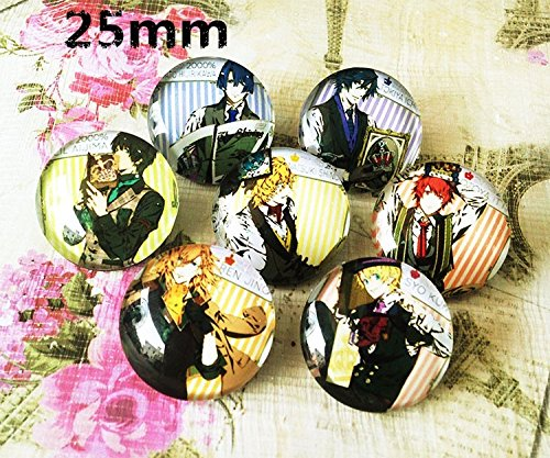 Epoxy Gem - His Royal Highness Prince song of the surrounding animation gem Epoxy badge brooch pin brooch customization