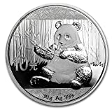 2017 CN Chinese Panda Silver Coin 30 Gra