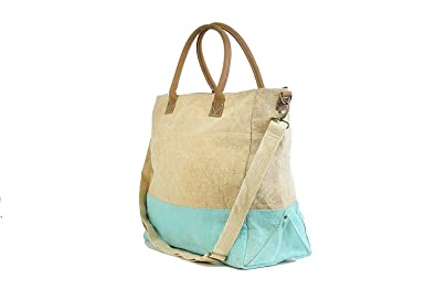 0a4cbeebe444 Jute Shopping Bag for Women with Leather Trim Burlap Women s Sling ...