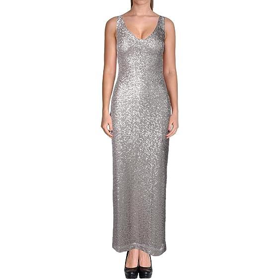 Amazon.com: Lauren Ralph Lauren Women\'s Sequined Sleeveless Evening ...