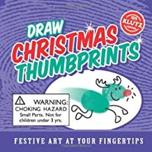 Draw Christmas Thumbprints: Festive Art At Your Fingertips