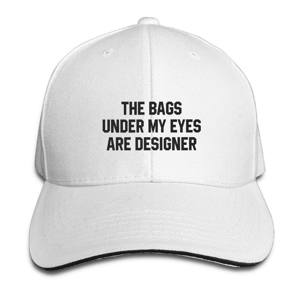 2b0ac350176 Baseball Cap Hip Hop Hat Cotton Sports Adjustable Casquette Cap Unisex The  Bags Under My Eyes Are Designer Classic Caps at Amazon Men s Clothing store