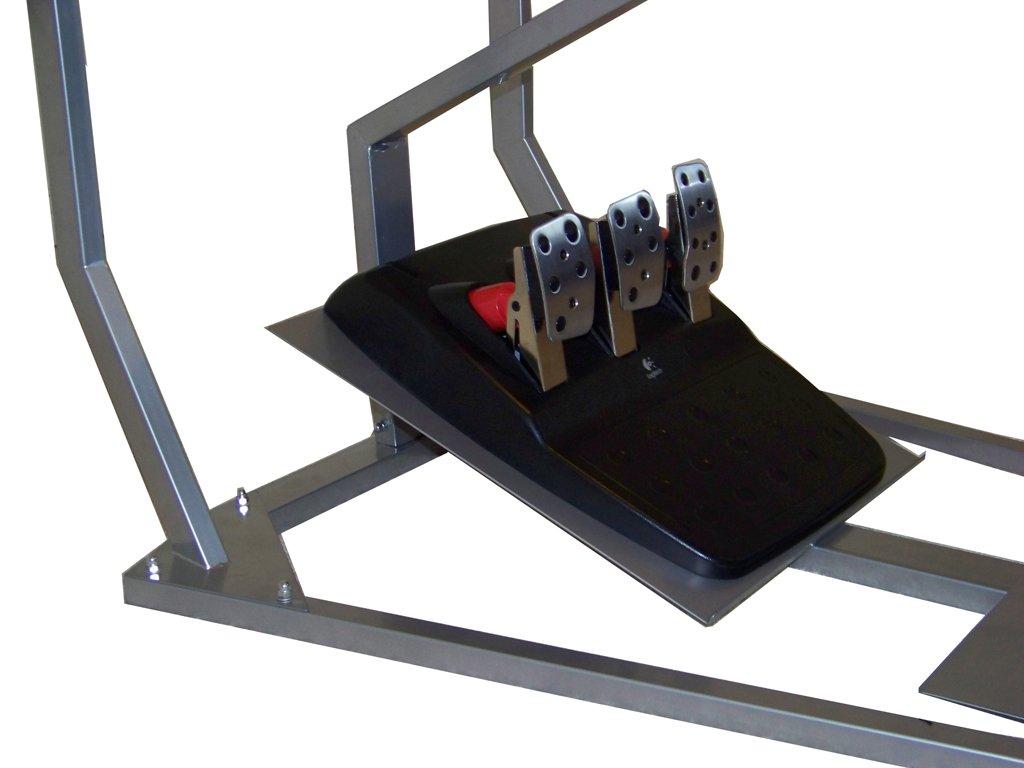 GTR Simulator GT - Cabina para simulador de conducción con Asiento de Carreras auténtico, Soporte para Palanca de Cambios y Pantalla Simple: Amazon.es: ...