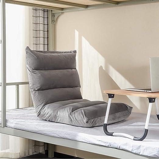 ZHlrsf Lazy Sofa - Silla de Juego for el Piso con Respaldo ...