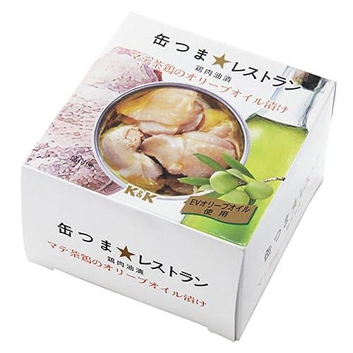 缶つまレストラン マテ茶鶏オリーブオイル漬け 150g缶×24個[2CS]