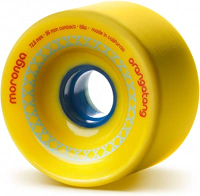 Orangatang Moronga 72.5 mm Freeride Longboard Skateboard Wheels
