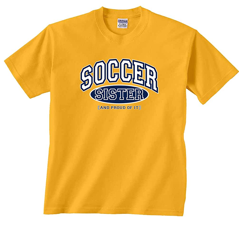 Fair Game Soccer Sister and Proud of It Sports T-Shirt